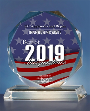 Award for best Appliance repair in Independence, MO
